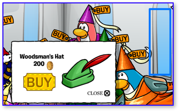 Club Penguin Woodsman's Hat