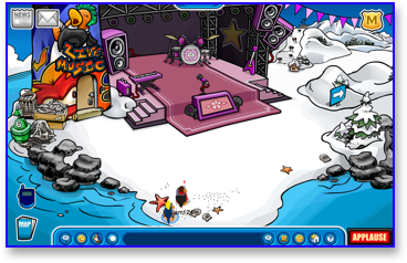 club-penguin-music-jam-2009-beach