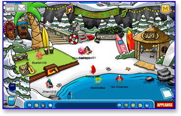 club-penguin-music-jam-2009-cove