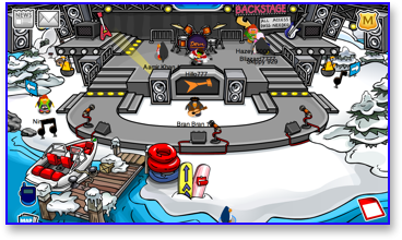 The Dock at Club Penguin Music Jam 2009