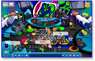 club-penguin-music-jam-2009-night-club-roof