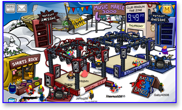 club-penguin-music-jam-2009-snow-forts