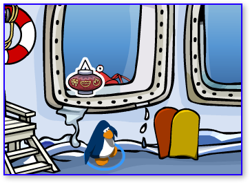 Post image for Club Penguin Dojo Lantern Pin