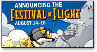 Post image for Club Penguin Festival of Flight