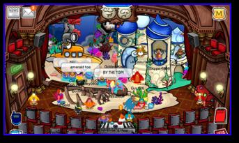 Underwater Adventure Play in Club Penguin