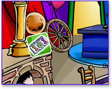 Post image for Club Penguin 101 Days Pin