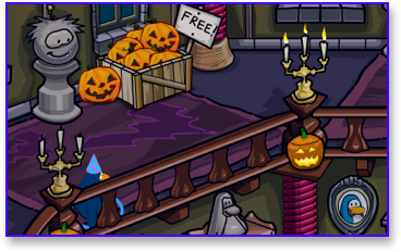 club-penguin-free-pumpkin-head-haunted-house