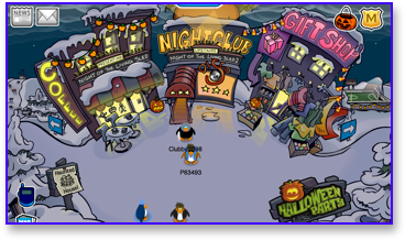 Post image for Club Penguin Halloween Party 2009