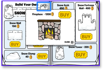 club-penguin-fireplace