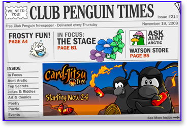 Post image for Club Penguin Times Issue 214