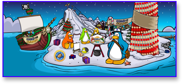 Post image for Club Penguin Christmas Party 2009