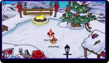 club-penguin-christmas-party-2009-dock-skate-pond