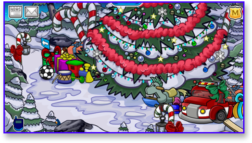 club-penguin-christmas-party-2009-forest