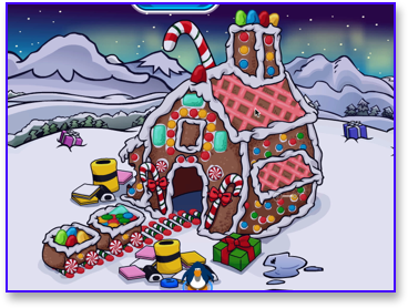 club-penguin-christmas-party-2009-mine-gingerbread-house