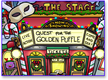 Post image for Quest for the Golden Puffle Returns