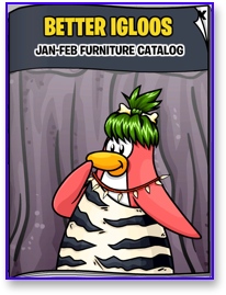 Post image for Club Penguin Igloo Catalog Cheats for January 2010