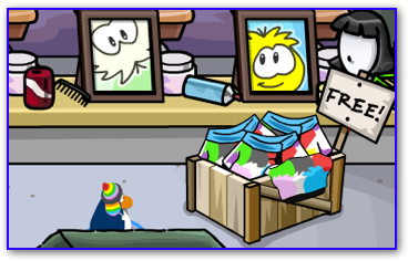 Free Puffle Jacket for Members at the Puffle Show