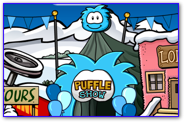 Club Penguin Puffle Party
