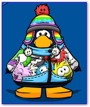 Puffle Hat and Jacket