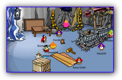 Club Penguin Puffle Rescue Construction