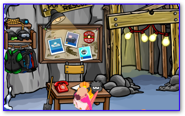 Puffle Rescue Entrance in the Mine