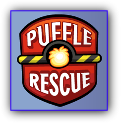 Club Penguin Puffle Rescue Logo