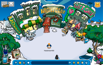 Green Buildings for Earth Day in Club Penguin