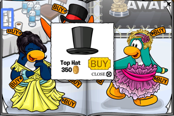 Club Penguin Top Hat