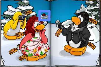 Club Penguin television camera light