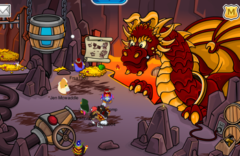 Club Penguin Dragon's Den