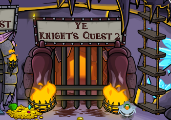 Club Penguin Knight's Quest 2