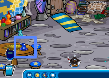 Club Penguin Blue Wizard Hat