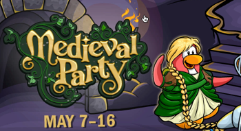 Club Penguin Medieval Party 2010