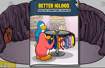 Club Penguin Igloo Catalog for June 2010