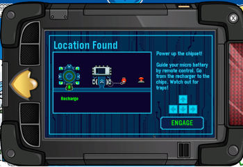Location Found Club Penguin EPF