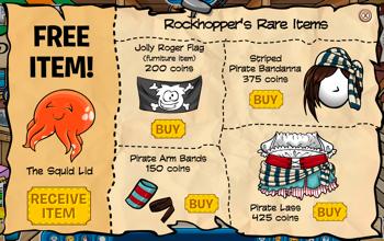 Rockhopper's Items for June 2010