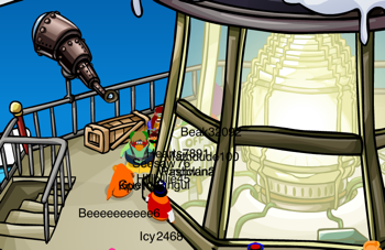 Club Penguin Beacon