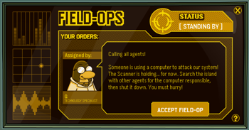 Club Penguin Field Ops 6 - Computer Attack