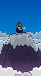Club Penguin Lone Climber