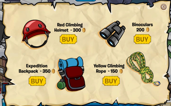 Club Penguin Mountain Expedition Catalog