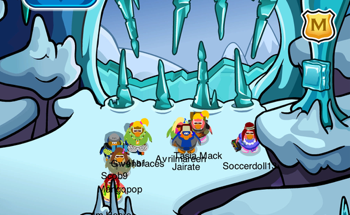 Club Penguin Icicle Cave