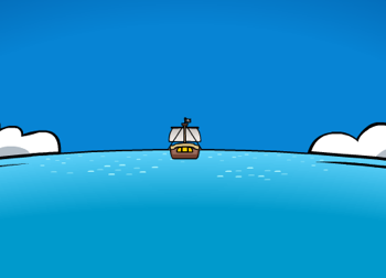 Rockhopper's Ship Departing