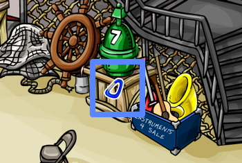 Club Penguin Carabiner Pin in Lighthouse