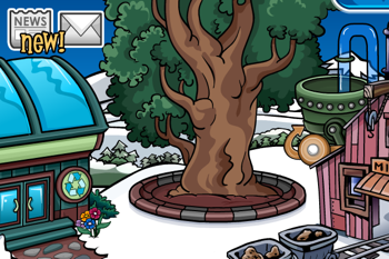 Club Penguin Community Tree August 2010