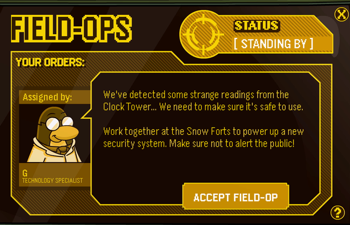 Club Penguin Field Ops 12