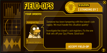 Club Penguin Field Ops 9