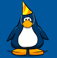 Club Penguin Second Year Party Hat
