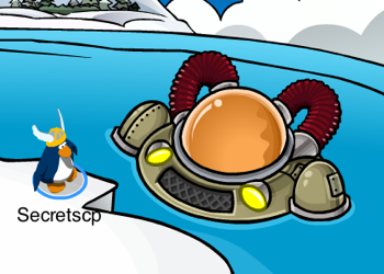 Club Penguin Aqua Grabber Entrance