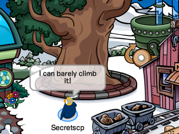 Club Penguin community tree gets bigger