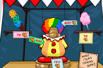 Prizes for Members at Great Puffle Circus